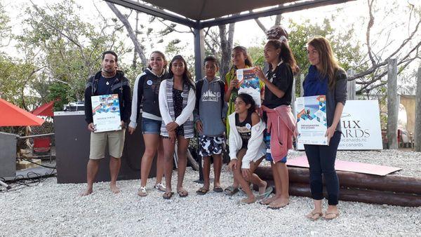 Les finalistes Sud des Trophées bleus 2019, 8 juin 2019, île aux Canards