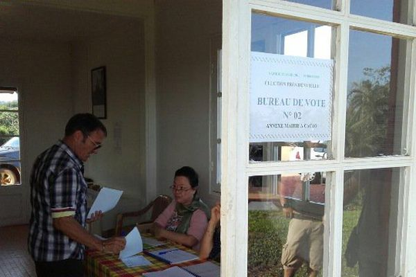 Bureau de vote de Cacao
