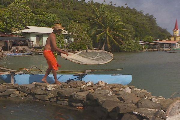parc à poisson traditionnel huahine