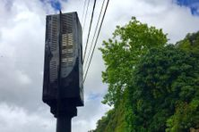 Le radar de l'Ilet à Saint-André.