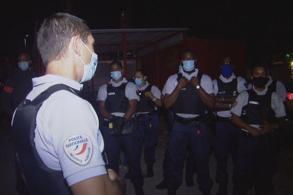 Opération de police anti covid 19