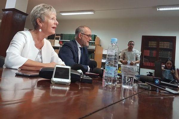 Les Procureurs Éliane Houlette et Denis Chausserie-Laprée