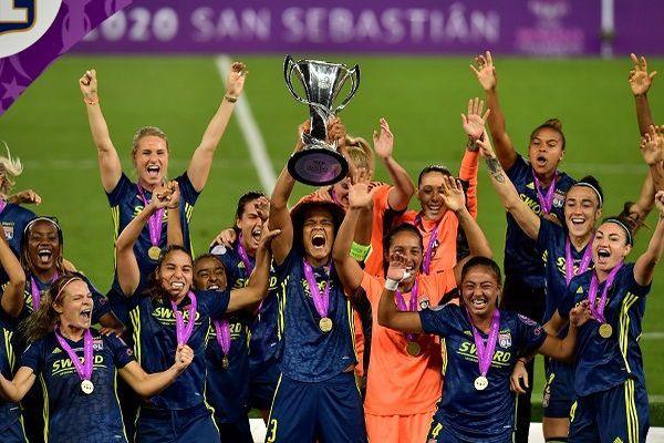 Victoire de l'OL 3-1 en ligue des champions 2020