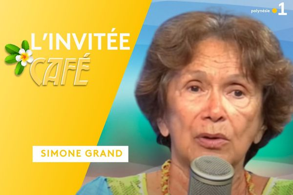 Simone Grand : invitée café