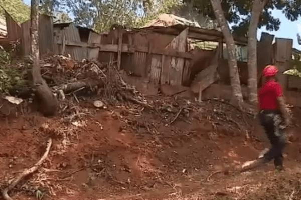 Mont Baduel destruction des maisons
