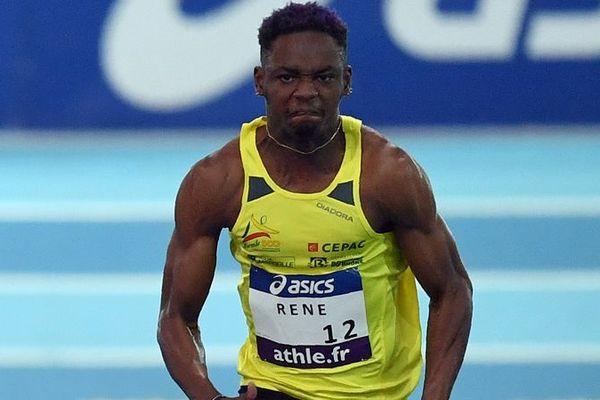 Marvin René, champion de France du 60m