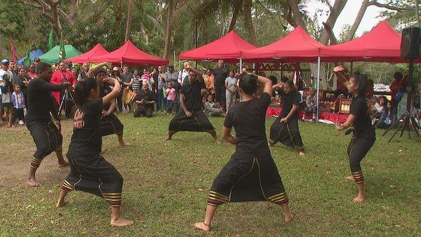 Journée récréative indonésienne, 25 août 2019, pencak silat