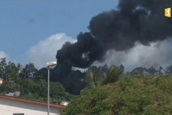 Village en feu