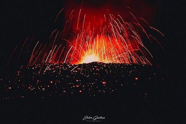 Eruption La Fournaise 29 juillet 2019
