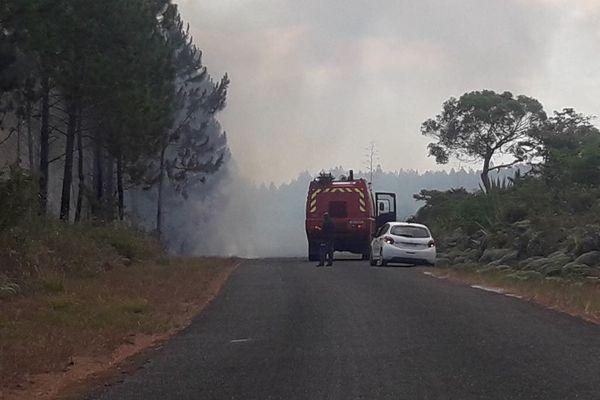Incendie Ile des Pins 26 novembre 2019