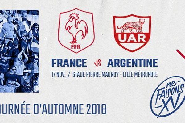 Rugby : France / Argentine samedi en direct