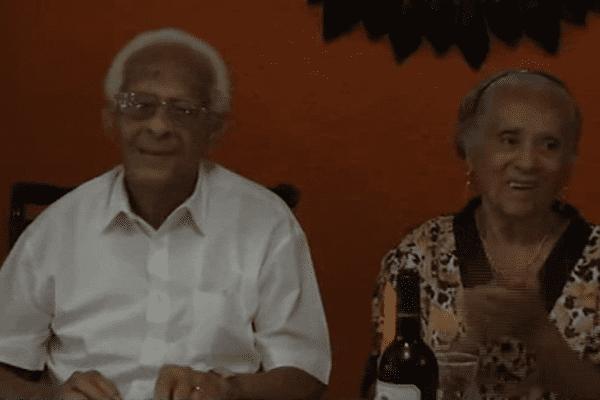 Les noces de platines de Louis et Lorraine Barthélémi