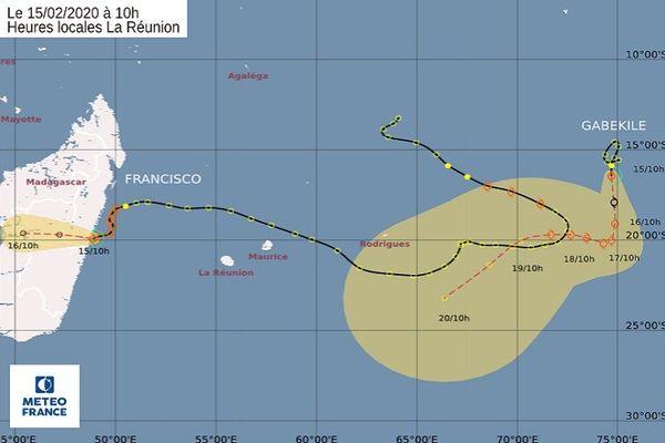 tempête tropicale modérée Gabekile