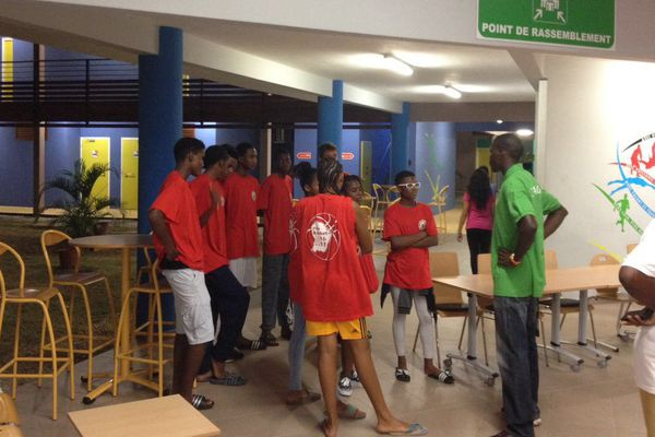 Rentrée des jeunes athlètes de l''IFAS