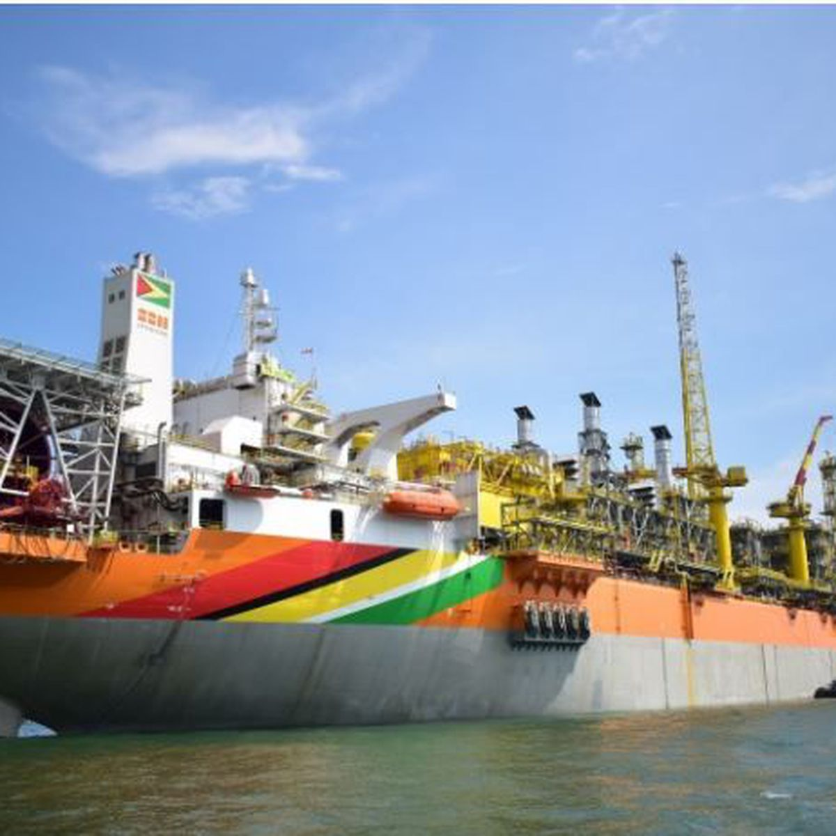 Un million de barils de pétrole extrait des puits en mer du Guyana