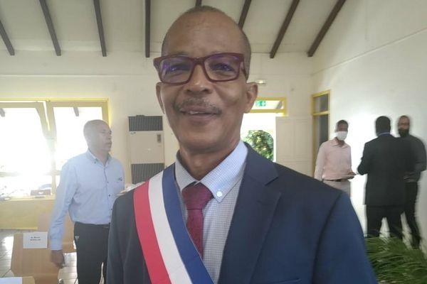 Elie Califer, maire de Saint-Claude