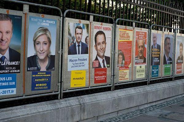 panneaux électoraux présidentielle 2017