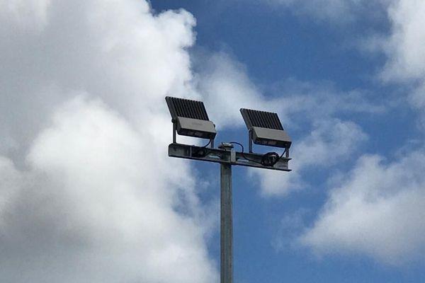 Parcours santé de Terreville à Schoelcher / luminaires