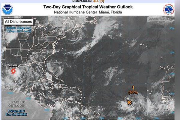 Carte météo 26 juillet 2020