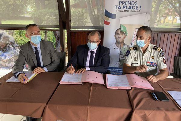 Signature convention caf et rsmar