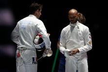 L'épéiste guadeloupéen Daniel Jérent lors des championnats du monde à Budapest en 2019.