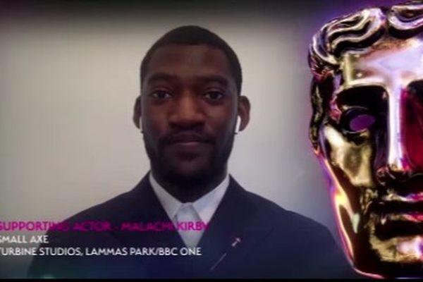Malachi Kirby, meilleur second-rôle aux BAFTA TV