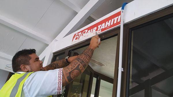 L'appareil affrété par Air Tahiti a fait son dernier vol entre Ua Pou et Ua Huka
