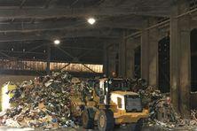 Traitement de déchets en usine (image d'illustration).