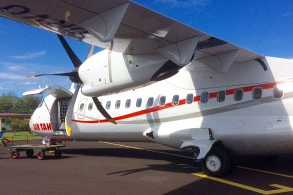 La compagnie compte 7 ATR 72 et 2 ATR 42