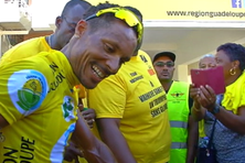 Boris Carene vainqueur du 65 tour cycliste international de Guadeloupe