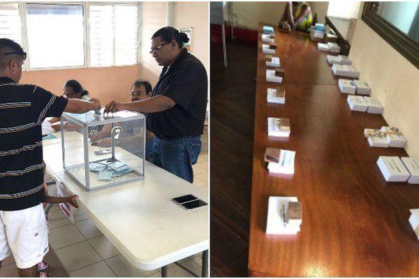Les bulletins de vote d'un candidat manquaient à l'appel, ce samedi 10 juin, dans plusieurs bureaux de Guyane pour le premier tour des élections législatives.
