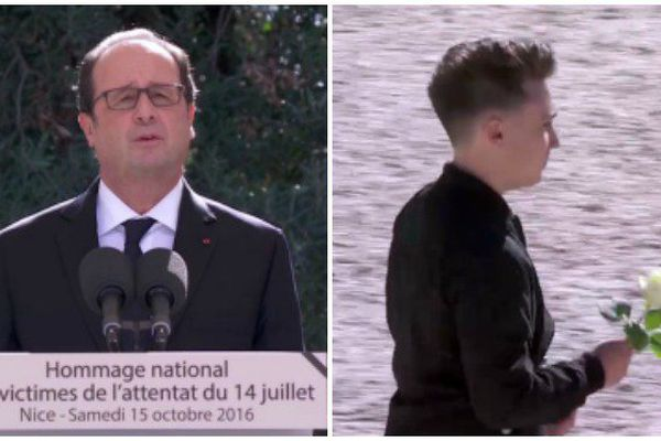 François Hollande rend hommage aux 86 victimes de l'attentat de Nice