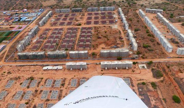 Spirit of Nouméa en Afrique : vue de Luanda Angola (2017)