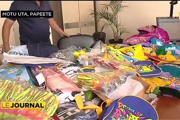 La douane saisit 70 000 pièces contrefaites