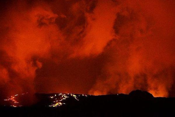 Eruption De La Fournaise 2019