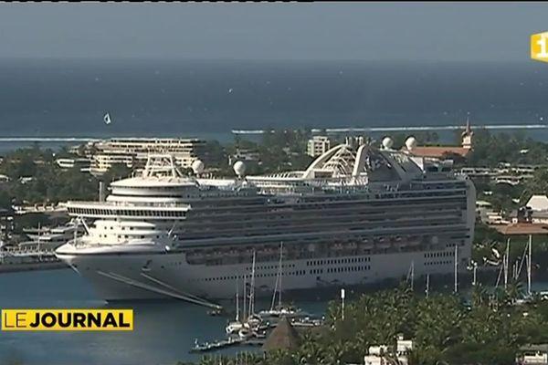 Trois paquebots et 8 000 touristes à Tahiti cette semaine