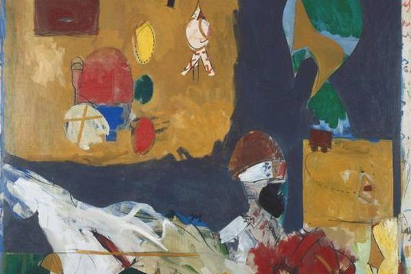 """""""Toussaint Louverture à New York"""", 1960 (huile sur toile)"""
