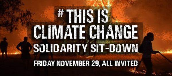 L'appel à manifester pour le climat le 29 novembre, en Australie