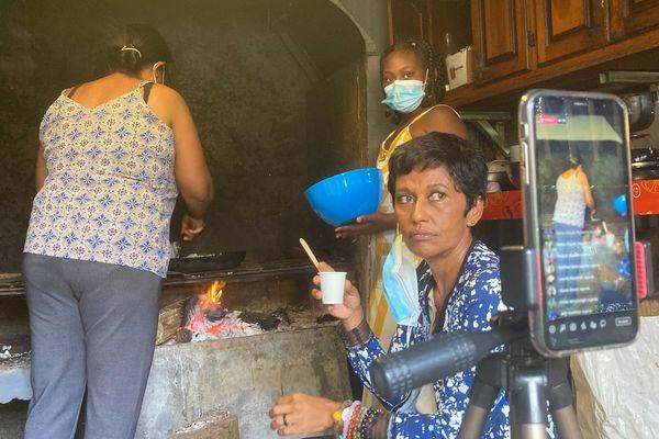Ericka Bareigts café risofé et régionales