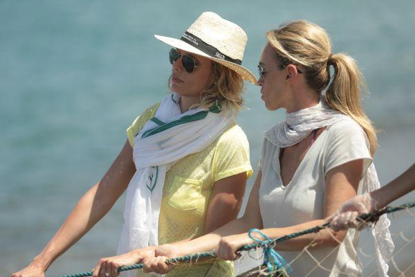 Sylvie Tellier et Cécile