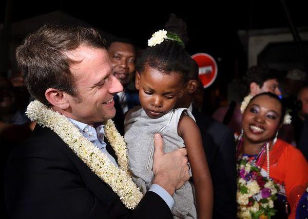 Emmanuel Macron à Mayotte 26 mars 2017