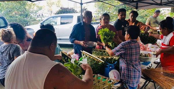 marché fête des pères Futuna