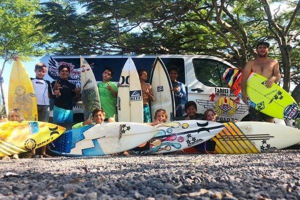 L'école de surf avec  Steeven Pierson