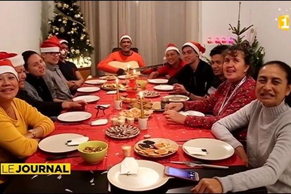 La fête de Noël pour les Tahitiens de métropole