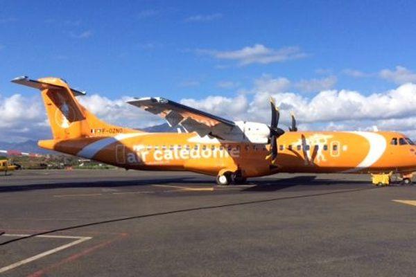 Arrivée quatrième ATR 72-600 Air Calédonie Aircal (23 décembre 2017)
