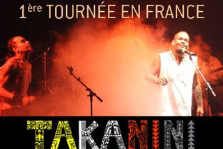 Takanini, 1ère tournée en France