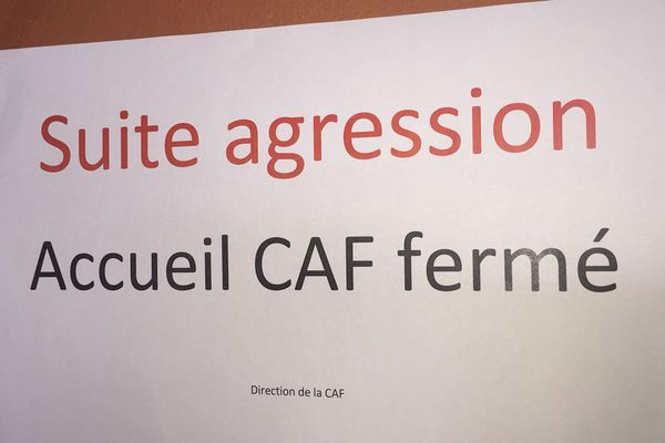 CAF Fermée