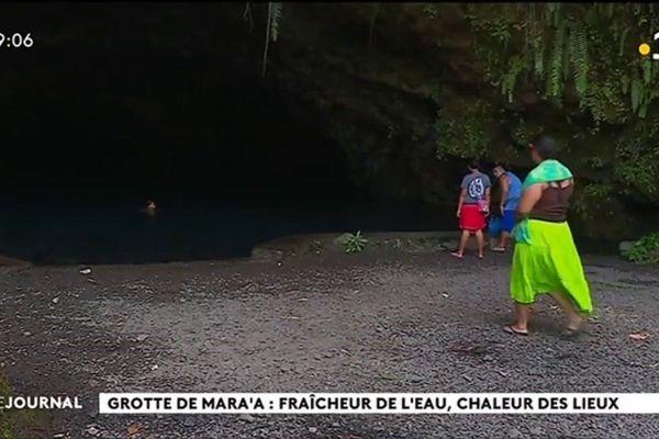 la Grotte de Maraa à Paea un site qui vaut le détour