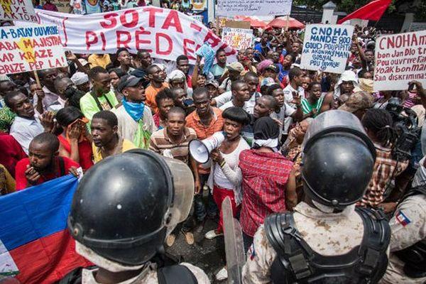 haiti greve