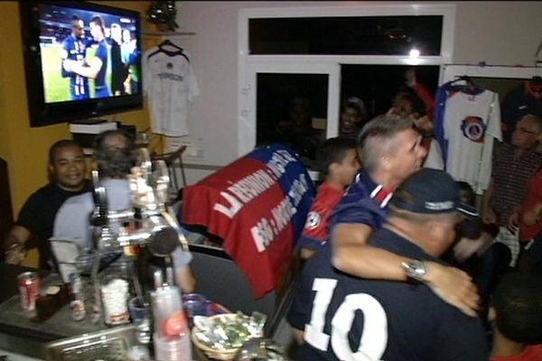 Football PSG : Ambiance supporters réunionnais